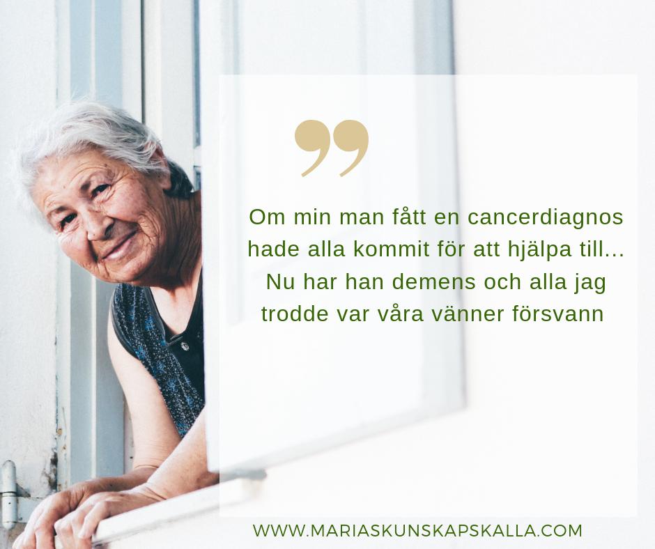 Kvinna i fönster som säger citat från undersökningen